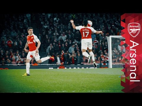 Arsenal - Best skills and tricks 2015-16