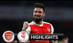 Arsenal vs Lincoln City 5-0 (11-mart, 2017)